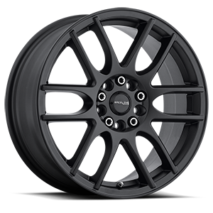 Raceline Wheels 141 Mystique 5 Black