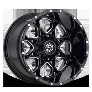 SC-10 Black Milled 5 lug