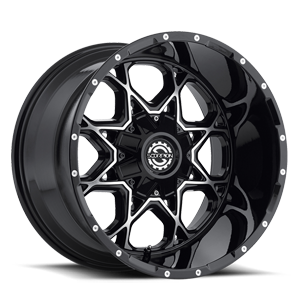 SC-10 Black Machined 5 lug