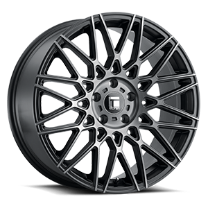 Touren Wheels TR78 5 Brushed Black w/ Dark Tint