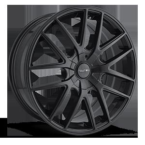 TR60 Matte Black 4 lug