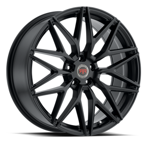R18 Satin Black 5 lug