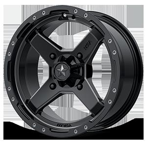 MSA Offroad Wheels M39 Cross 4 Satin Black with Titanium Tint