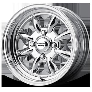 American Racing Custom Wheels VN401 Silverstone 4 Two-Piece Polished