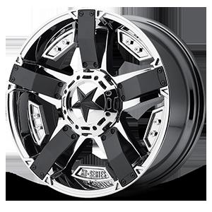 XD Wheels XD811 ROCKSTAR II 6 PVD w/Matte Black Accents