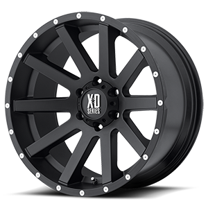 XD Wheels XD818 Heist 6 Satin Black