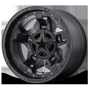 XD Wheels XD827 RS3 5 Matte Black