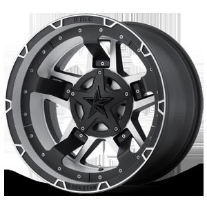 XD Wheels XD827 RS3 5 Matte Black Machined