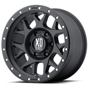XD Wheels XD127 Bully 6 Satin Black