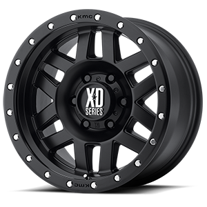 XD Wheels XD128 Machete 6 Satin Black
