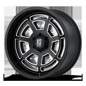 XD Wheels XD824 Bones 6 Satin Black Milled