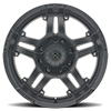 8 LUG AX181 ARTILLERY CAST IRON BLACK