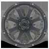 5 LUG AX188 LEDGE CAST IRON BLACK