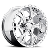 5 LUG HE791 MAXX CHROME