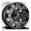 6 LUG AMBUSH - D555 GLOSS BLACK & MILLED