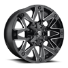 8 LUG AMBUSH - D555 GLOSS BLACK & MILLED