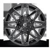 5 LUG AMBUSH - D555 GLOSS BLACK & MILLED