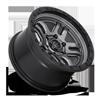 5 LUG AMMO - D701 ANTHRACITE W/ BLACK RING