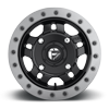 4 LUG ANZA - D917 BEADLOCK 14X7 ET38 | MATTE BLACK W/ ANTHRACITE RING