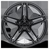 5 LUG AR907 GLOSS BLACK