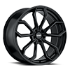 5 LUG AR932 SATIN BLACK
