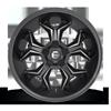 5 LUG AVENGER - D605 MATTE BLACK/MACHINED/DDT