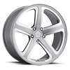 5 LUG AR922 HOT LAP SATIN GRAY MILLED