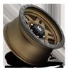 6 LUG D583 ANZA MATTE BRONZE W/ BLACK RING