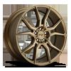 5 LUG ASCARI - M167 BRONZE 20X9