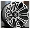 6 LUG AB813 CLEAVER BLACK MACHINED