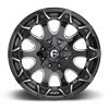 5 LUG BATTLE AXE - D578 GLOSS BLACK & MILLED