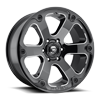 5 LUG BEAST - D562 BLACK & MILLED