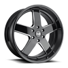 6 LUG BIG BALLER - S223 GLOSS BLACK & MILLED