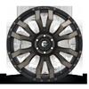 6 LUG BLITZ - D674 22X10 ET-18 | MATTE BLACK/MACHINED/DDT