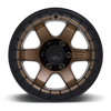 6 LUG BLOCK BEADLOCK - D124 MATTE BRONZE WITH BLACK RING
