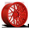 5 LUG BLQ-T CANDY RED