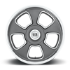 5 LUG BLVD - U125 ANTHRACITE W/ DIAMOND CUT LIP