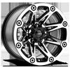 8 LUG 522 FLASH GLOSS BLACK MACHINED