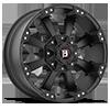 6 LUG 845 MORAX FLAT BLACK