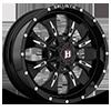 6 LUG 951 DAGGER GLOSS BLACK