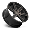 5 LUG CARINA - M236 22X9.5 | GLOSS BLACK & MACHINED W/ DARK TINT