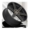 6 LUG CARINA - M236 MATTE BLACK/MACHINED/DDT