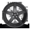 5 LUG CARINI - M185 SATIN BLACK