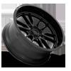 6 LUG CLASH 6 - D760 GLOSS BLACK 22X10