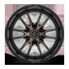6 LUG CLASH 6 - D762 MATTE BLACK W/DARK TINT