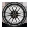 6 LUG CLASH 6 - D762 MATTE BLACK W/DARK TINT - 24X12