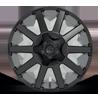6 LUG CONTRA - D437 MATTE BLACK