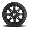 4 LUG MAVERICK BEADLOCK - D938 - (HD RING) MATTE BLACK & MILLED