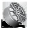 5 LUG DFS - M221 22X10.5 | SILVER & MACHINED