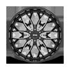 6 LUG OG - S263 GLOSS BLACK MILLED